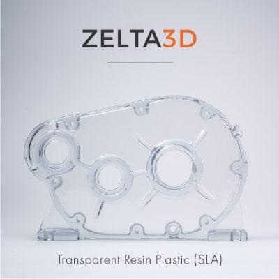 Transparent Material 3D Printing Service