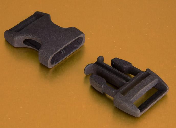 MJF Nylon PA12 functional clip